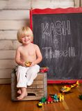 Kash da vuelta a tres foto de archivo libre de regalías
