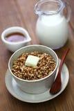 Kasha, buckwheat porridge Stock Photo