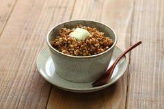 Kasha, buckwheat porridge Stock Photos