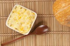 Kasha do arroz com abóbora Imagem de Stock Royalty Free