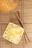 Kasha do arroz com abóbora Fotos de Stock