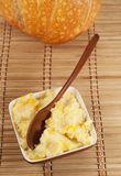 Kasha do arroz com abóbora Imagem de Stock