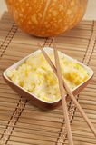 Kasha do arroz com abóbora Foto de Stock