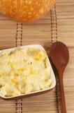 Kasha do arroz com abóbora Imagens de Stock