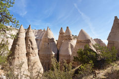 Kasha-Katuwe Tent Rocks National Monument Stock Photos