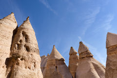 Kasha-Katuwe Tent Rocks National Monument Stock Photo