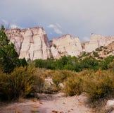 Kasha-Katuwe Tent Rocks National Monument - NM Royalty Free Stock Photography