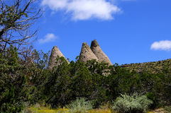 Kasha-Katuwe Tent Rocks National Monument Royalty Free Stock Photos