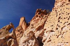 Kasha-Katuwezelt schaukelt Nationaldenkmal, New Mexiko, USA Stockbild