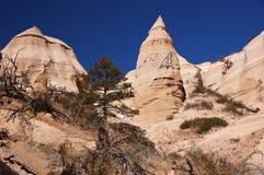 Kasha-Katuwezelt schaukelt Nationaldenkmal, New Mexiko, USA Lizenzfreies Stockfoto
