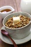 Kasha, russian buckwheat porridge Stock Photo