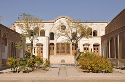 Kashan historic house Royalty Free Stock Images