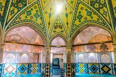 Kashan Historische Bathhouse 03 stock fotografie
