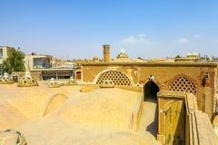 Kashan Historische Bathhouse 07 stock afbeelding