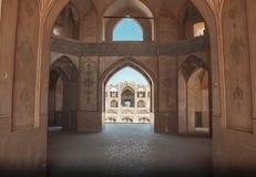 Kashan Mosquee royalty-vrije stock afbeelding