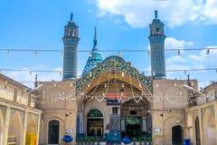 Kashan Amir Ahmad Mausoleum royalty free stock photo