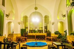 Kashan Traditional Interior Architecture 01 stock photography