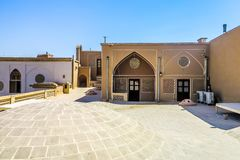 Kashan Traditional Interior Architecture 03 stock photo