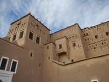 Kashba in Arabic town, Morocco Royalty Free Stock Images
