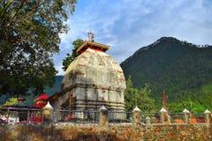 Kashi Vishwanath Temple in Uttarkashi, Uttarakhand. This is the famous Kashi Vishwanath Temple in Uttarkashi, Uttarakhand... An ancient temple with religious and Stock Images