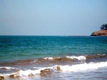KASHID plaża W maharashtra, INDIA Obrazy Royalty Free