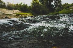 河Kashirka 免版税图库摄影