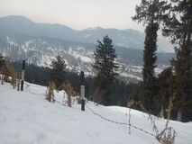 Kashmir view point Stock Photography