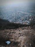 Kashmir tillflyktsort på jord Arkivbilder
