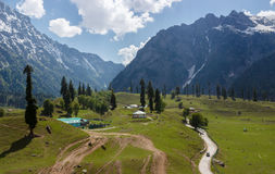 Kashmir valley, India Royalty Free Stock Images