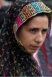 kashmiri γυναίκα Στοκ φωτογραφίες με δικαίωμα ελεύθερης χρήσης