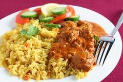 kashmiri πιάτο κάρρυ κινηματογρα& Στοκ Εικόνα