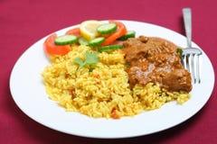 kashmiri πιάτο κάρρυ Στοκ εικόνα με δικαίωμα ελεύθερης χρήσης