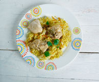 Kashmiri Chicken Pulao Royalty Free Stock Image