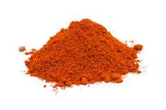 Kashmiri Chili Powder Pile Photo libre de droits
