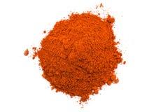 Kashmiri Chili Powder Pile Photos stock