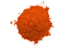 Kashmiri Chili Powder Pile Stock Photos