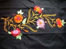 Kashmiri Embroidery Stock Photos