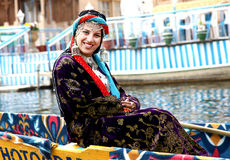 Kashmiri girl. Beautifyl shot of kashmiri girl stock images
