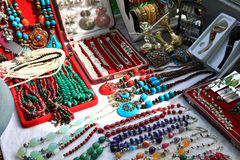 Kashmiri jewellery Stock Image