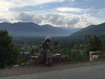 Kashmiri local Stock Photo