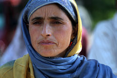 Kashmiri woman Stock Image
