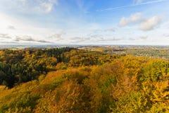 Kashubia in autumn. In Poland stock photo