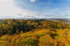 Kashubia im Herbst stockbilder