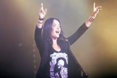 Kasia Kowalska polish rock star royalty free stock images