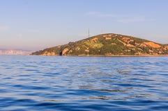 Kasik海岛和Islands Of Country土耳其公主 免版税图库摄影