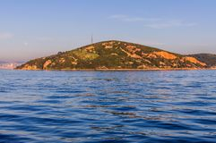 Kasik海岛和Islands Of Country土耳其公主 免版税库存照片