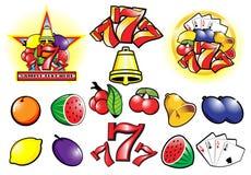 kasino stock illustrationer