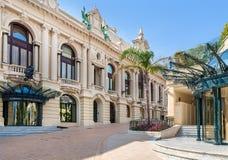 Kasino av Monte - carlo, Monaco Arkivbild