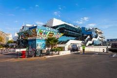 Kasino Barriere i Cannes, Frankrike fotografering för bildbyråer