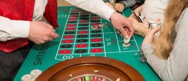 Kasino - erwachsene Spiele Stockfotografie